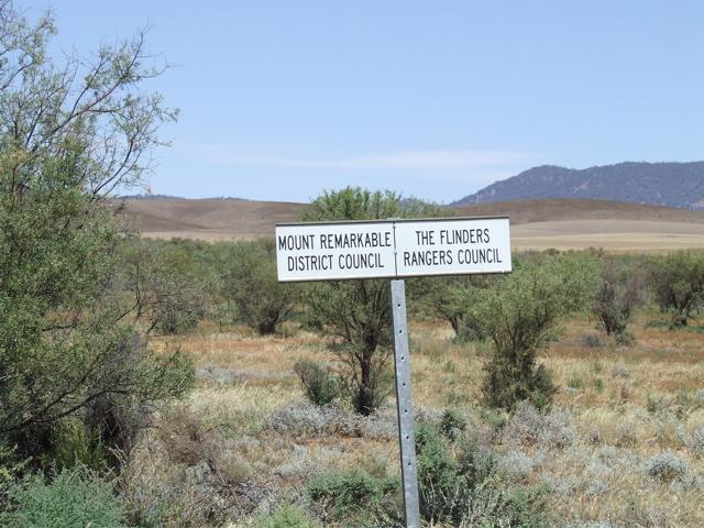 """The """"Flinders Rangers"""""""